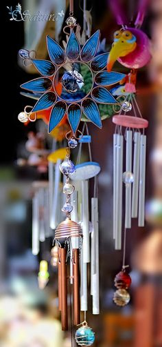 Lovely Wind Chimes by ღ✿§Ѧк υℜa✿, via Flickr