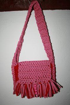 Ein rosa-roter Taschentraum für die ganz kleine Lady!