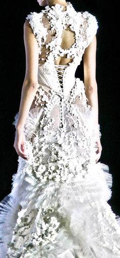 Tex Saverio - Haute Couture - Robe 'Sculpture' - Mariée