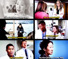 there is only ONE cristina yang and she is IRREPLACEABLE