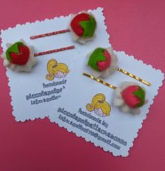 Strawberry Collection: bobby pins
