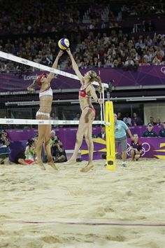 Congrats! USA !!! Misty and Kerri's Golden Night - Beach Volleyball