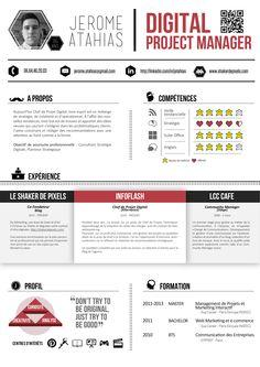 Incroyable Exemple de CV chef de projet web YP-89