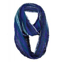 boucle infinity scarf - azul - Shupaca Alpaca Boucle Scarf