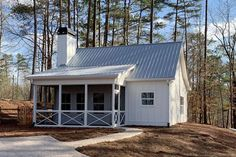 Modern House Plans : Architectural Designs Tiny House Plan gives you bedrooms, 1 baths an… Small Cottage House Plans, 2 Bedroom House Plans, Country Style House Plans, Small House Plans, Cottage Homes, Guest Cottage Plans, Cottage Ideas, Cabin Homes, Log Homes
