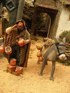 Part of Amazing Neapolitan Nativity Scene