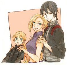 Sai, Inojin, and Ino. / SaiIno
