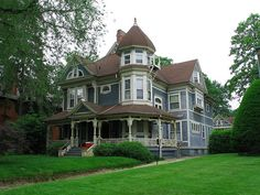 Victorian home in Old West End, Toledo, Ohio