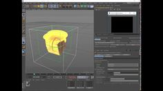 instruction creating a 4 D animated in Cinema 4D R17