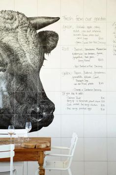 Daily menu at Babel Restaurant, South Africa. Cafe Bar, Cafe Restaurant, Restaurant Design, Restaurant Interiors, Restaurant Branding, Restaurant Ideas, Cafe Interiors, Cafe Menu, Restaurant Tables