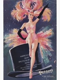 Burlesque Show, Vintage Burlesque, Casino Hotel, Las Vegas Hotels, Cabaret, Vintage Advertisements, Vintage Ads, Vintage Graphic, Vintage Glamour