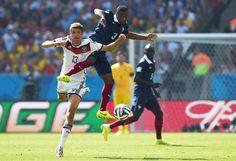 Cuartos de Final  (Alemania 1 – Francia 0)