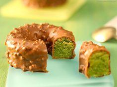 Biscuit pistache enrobé de Gianduja - Recette de cuisine illustrée - MeilleurduChef.com