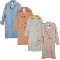 Le trench, sélection shopping