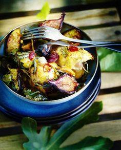Poulet rôti aux figues, citron et sauge pour 6 personnes - Recettes Elle à Table