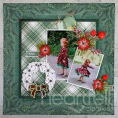 Handmade Scrapbook, Christmas Poinsettia, Holly Leaf, Heartfelt Creations, Flower Shape, Cardmaking, Paper Crafts, Layout, Crafty
