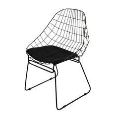 Metallstuhl, schwarz Orsay | Maisons du Monde