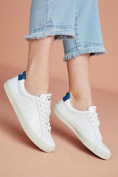 Explore Anthropologie's unique collection of All Shoes, featuring the season's newest arrivals. Veja Esplar, Most Popular Shoes, White Tennis Shoes, Physical Fitness, Adidas Stan Smith, Basketball Shoes, Keds, Adidas Sneakers, Buy Shop