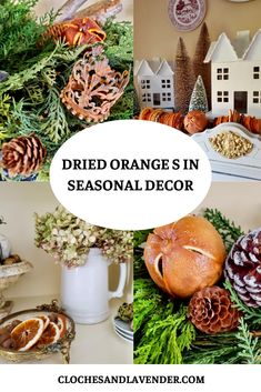 Christmas Party Food, Christmas In July, All Things Christmas, Christmas Diy, Christmas Decorations, Table Decorations, Dried Orange Slices, Dried Oranges, Dried Fruit