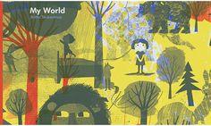 britta teckentrup, my world