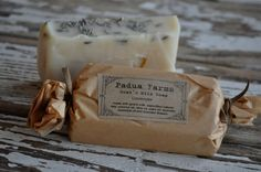 Padua Farms soaps from Claremont