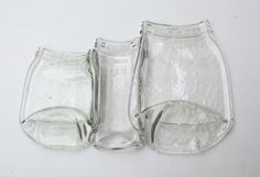 Melted Glass Relish Tray 3 jars Living by PiecesofhomeMosaics, $23.00