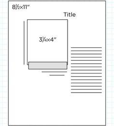 Scrapbook Page Sketch 411