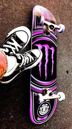 Download Converse wallpaper by geoo86 - b4 - Free on ZEDGE™ now. Browse millions of popular all stars Wallpapers and Ringtones on Zedge and personalize your phone to suit you. Browse our content now and free your phone Painted Skateboard, Skateboard Deck Art, Skateboard Design, Skateboard Girl, Penny Skateboard, Bebidas Energéticas Monster, Converse Wallpaper, Natur Tattoo Arm, Monster Pictures