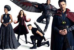 Avengers Infinity War - photo shoot