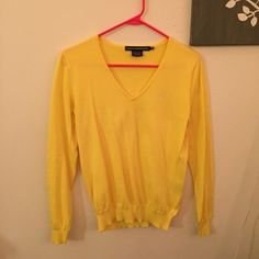 Ralph Lauren V-Neck Sweater This sweater is in great condition and has been worn only twice! Ralph Lauren Sweaters V-Necks
