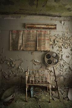 "500px / Photo ""Childrens ward in the hospital of Pripyat."" by Ruben Ekelund"