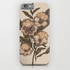 Pansy- For iPhone 6 Case