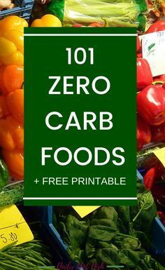Here's a zero carb foods list that can help you to choose the right low carb and keto foods to lose wieght on a keto diet. Low Carb Food List, Low Carb Diet, Carb List, Carb Free Diet, Very Low Calorie Diet, No Carb Recipes, Diet Recipes, Kale Recipes, Yogurt Recipes