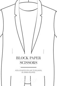 Seamwork Magazine: Block Paper Scissors