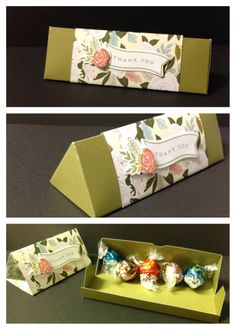 Chocolate triangle box CTNH Hello Lovely