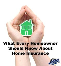 What Every #Homeowner Should Know About Home Insurance: http://www.househunt.com/news-realestate/home-insurance/ how to buy insurance, insurance buying tips #financialplanning
