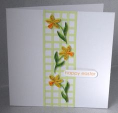 quilling easter | Quilled Easter card