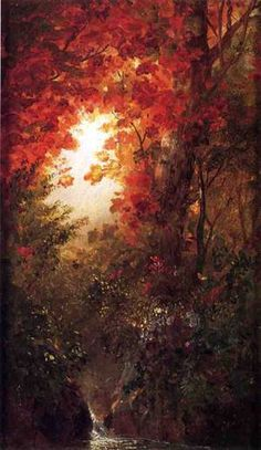 Autumn Landscape, Vermont 1865 Painting by Frederic Edwin Church