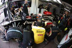 Team work - qualifying session - Monaco GP