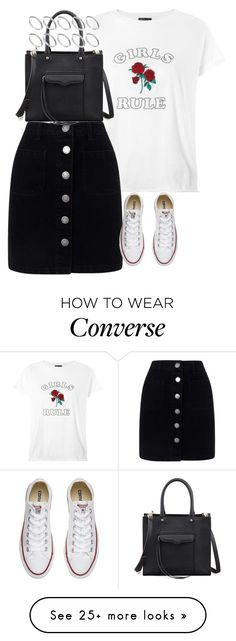 """Untitled #4511"" by keliseblog on Polyvore featuring Topshop, Miss Selfridge, Converse, Rebecca Minkoff and ASOS"