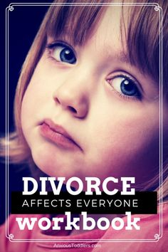 Divorce affects everyone. Get a divorce workbook to do with your children. An inexpensive pdf downloadable book.