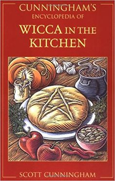 Kitchen witchery- I love this book! Wicca in the Kitchen by Scott Cunningham, one every kitchen witch should have! Mabon, Wiccan Witch, Wicca Witchcraft, Magick, Wiccan Art, Scott Cunningham, Illustration Noel, Under Your Spell, Hedge Witch