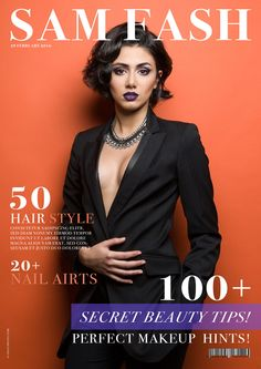 SAM FASH COVER by ONAT PHOTO on 500px 50 Hair, Perfect Makeup, New Look, Beauty Hacks, Hair Styles, Cover, Photography, Flawless Makeup, Fotografie