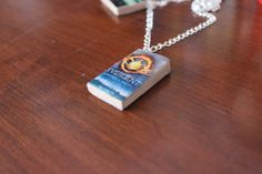 Miniature Book Charm on Etsy, $4.78