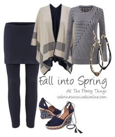 """""""Fall into Spring"""" by brie-zy ❤ liked on Polyvore featuring CAbi"""