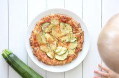 Cauliflower & Parmesan Crust Mini-Pizzas - Baby Food Recipe