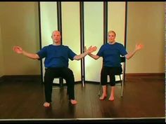 Seated Tai Chi for Arthritis Video Exercise Videos, Excercise, Workout Videos, Health And Wellness, Health Tips, Health Fitness, Chair Exercises, Self Massage, Qi Gong