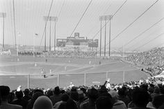 Opening day at Candlestick Park, 1960