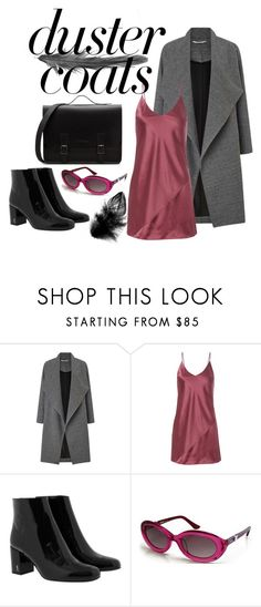 """""""Untitled #139"""" by angel534 on Polyvore featuring Miss Selfridge, Fleur du Mal, Yves Saint Laurent and Moschino"""