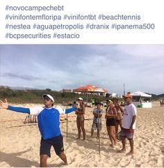 Clínica de Beach Tennis com Vini Font na Praia Novo Campeche em Floripa/SC.